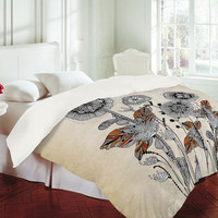Iveta Abolina Floral 3 Duvet Cover