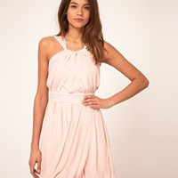 ASOS | ASOS Grecian Dress with Bubble Hem at ASOS