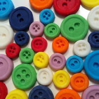 Sugar Paste Buttons by SweetRevelry on Etsy