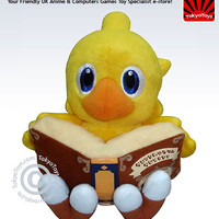 "Final Fantasy: ""Plush - Chocobo Sitting 8in"" : TokyoToys.com: UK Based e-store, Anime Toys Retail & Wholesale, Manga Action Figures,  Hentai Statues, Japanese Snacks, Pocky, DVDs, Gashapon,  Cosplay, Monkey Shirt, Final Fantasy, Bleach, Naruto, Death Note,"