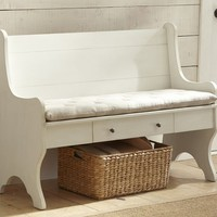 Family Storage Bench