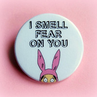 Louise Bob's Burgers - button badge or magnet 1.5 Inch