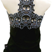 HOT SALE!!! Beauty and Unique Tank Top with Goth Motives