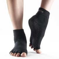 ToeSox Half Toe Yoga/Pilates Toe Socks With Grips