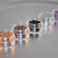 Eye Shadow, Mineral Makeup, Set of 5 - You Choose Colors, 5 gram jars with Sifters
