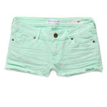 Bullhead Denim Co Fray Hem Short Shorts at PacSun.com