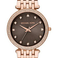 Michael Kors 'Darci' Crystal Bezel Bracelet Watch, 39mm | Nordstrom