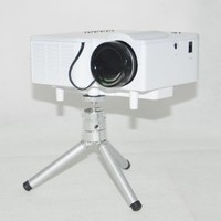 "60"" Portable Mini Hd LED Projector Cinema Theater, Support PC Laptop VGA Input and SD + USB + AV Input:Amazon:Electronics"