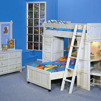Gracie Twin Size Student Loft Bed