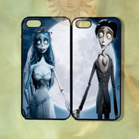 Corpse Bride Couple Case-iPhone 5, iphone 4s, iphone 4 case, ipod 5, Samsung GS3-Silicone Rubber or Hard Plastic Case, Phone cover