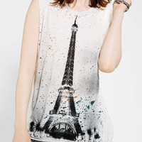 Urban Outfitters - Truly Madly Deeply Paris Photo Muscle Tee