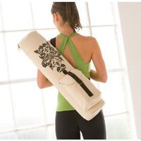 Gaiam Printed Yoga Mat Bag (Damask)