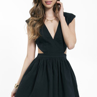 Schrock Frock Cutout Dress $56