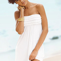 Strapless Ruffle Cover-up - Beach Sexy - Victoria's Secret