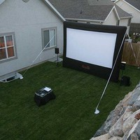 New - Open Air Cinema CineBox Home 12x7 Backyard Theater System by Open Air Cinema:Amazon:Home & Kitchen