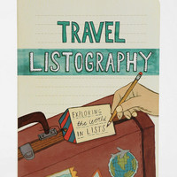 Urban Outfitters - Listography Travel Journal