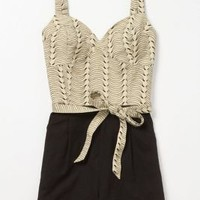 Banana Bunch Romper - Anthropologie.com