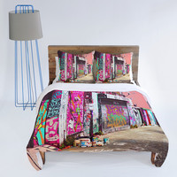 DENY Designs Home Accessories | Shannon Clark Paint It Pink Duvet Cover