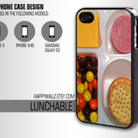Lunchable Iphone Case Iphone 4 case Iphone 5 case Iphone 4s case Samsung Galaxy S3 Case Iphone 4 5 Cover