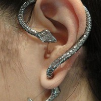 Unique Punk Style Snake Stud Earrings at Online Jewelry Store Gofavor