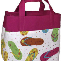 Pdf Pattern JUST RIGHT TOTE, Easy To Sew Handbag