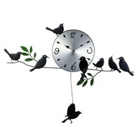 YCC Voice of Spring Mute Girls Clocks Color Silver