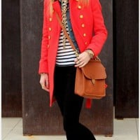 Styling / love the layering of prints and bold colors