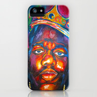 BIGGIE SMALLS iPhone & iPod Case by Molly Jean