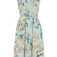 Blue floral prom dress - View All - Dresses - Dorothy Perkins