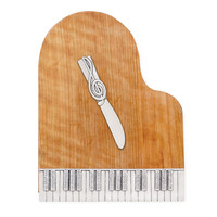 PIANO SERVING BOARD | Wooden Piano Serving Board | UncommonGoods