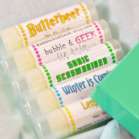 Lip Balm Gift Set - Pick 5 - Bubble and Geek