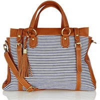 Oasis Shop | Multi Stripe Tote Bag | Womens Fashion Clothing | Oasis Stores UK