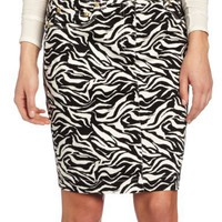 Jones New York Women's Animal Printed Slim Skirt