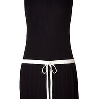 STYLEBOP.com | Black Drop Waist Merino Wool Tennis Dress by JUICY COUTURE | the latest trends from the capitals of the world