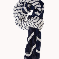 Sea Bound Striped Scarf
