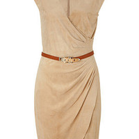 STYLEBOP.com | Deep tan suede Lea dress by RALPH LAUREN | the latest trends from the capitals of the world