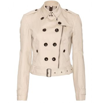 Braxton Trench Jacket  * Burberry Brit : mytheresa.com