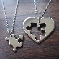 couple matching necklaces - Google Search