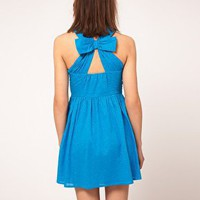 ASOS | ASOS Summer Dress In Bow Back at ASOS