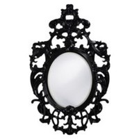 One Kings Lane - Amanda Erin - Dorsiere Mirror, Black