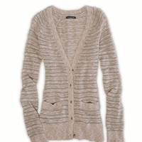 AE Striped Knit Cardigan | American Eagle Outfitters