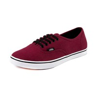 Vans Authentic Lo Pro Skate Shoe, Maroon, at Journeys Shoes