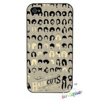 Graffiti Art Case for Iphone 4 / 4S-Haircut