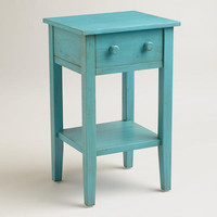 Sky Blue Sara Nightstand - World Market