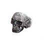 Punk Style Sterling Silver Skull Rings for Men