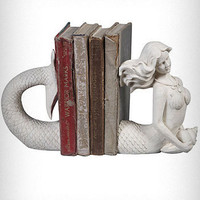 Victorian Mermaid Bookends | PLASTICLAND