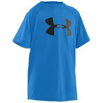 Under Armour Big Logo Tech T-Shirt - Boys' Grade School at Foot Locker