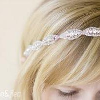 BEST SELLER Rhinestone and Beaded Trim Halo / by UntamedPetals