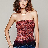 Free People  FP ONE Fresh Fields Peplum Tube Top at Free People Clothing Boutique