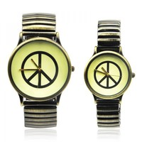 Vintage Peace Couple Watches by deniserose on Zibbet